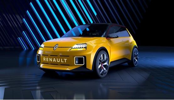 Groupe Renault's reimagined Renault 5 hatchback