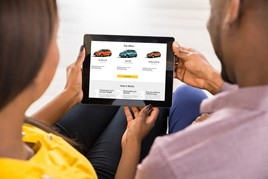The Renault Buy Online platform in action