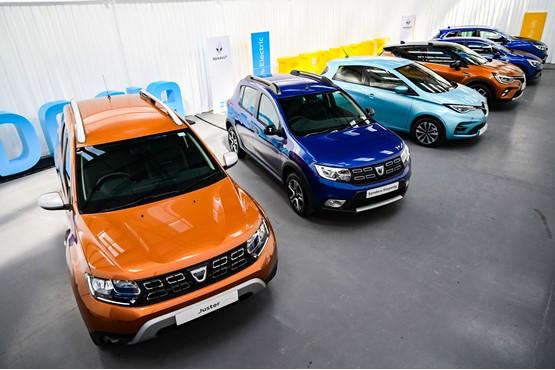 The Renault/Dacia Virtual Showroom