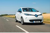The plug-in Renault Zoe EV