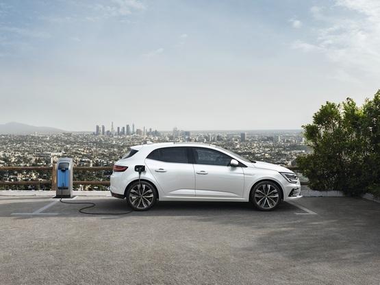 The new Renault Megane plug-in hybrid (PHEV) hatchback