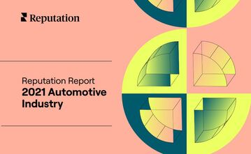 Cover: Reputation Report - 2021 Automotive Industry