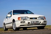 Cars like the Ford Sierra are now prized assets for collectors