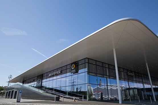 The new Mercedes-Benz Retail Group Dartford dealership
