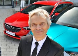 Vauxhall aftersales director Richard Dyson