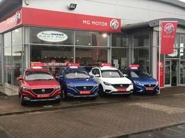 Richard Hardie's MG Motor UK dealership in Newcastle