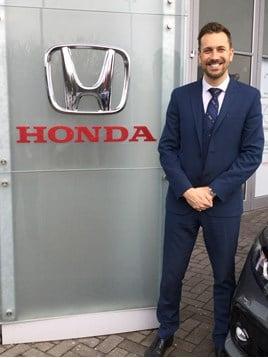 Hendy Honda new sales manager Richard Stevenson 2018