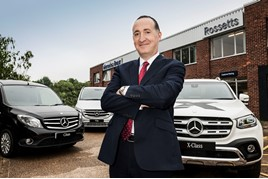 Richard Wheeler dealer principal Rossetts Commercial Vehicles MB 2018