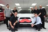 The Movember fund-raising team at Riverside Eastern Ltd