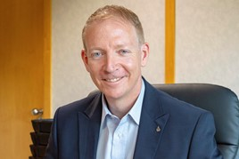 Rob Lindley,  the managing director of Mitsubishi Motor UK