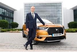 Rob Thomas DS Automobiles sales director
