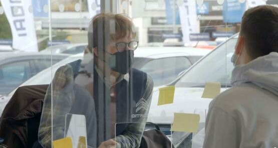 Vertu Motors CEO Robert Forrester donned a disguise to appear in ITV's Undercover Big Boss