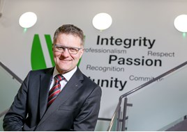 Vertu Motors' CEO Robert Forrester