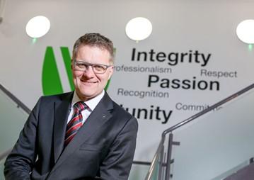 Vertu Motors' CEO Robert Forrester