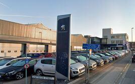 Robins & Day's former Peugeot Bristol car dealership site
