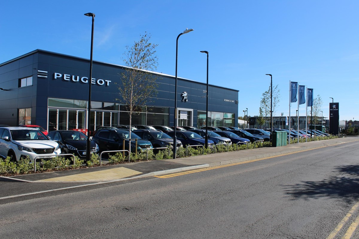 robins day moves out of landmark peugeot maidstone dealership car dealer news landmark peugeot maidstone dealership