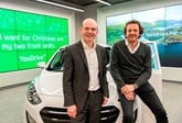 Hyundai UK's Tony Whitehorn (left) and Rockar CEO Simon Dixon