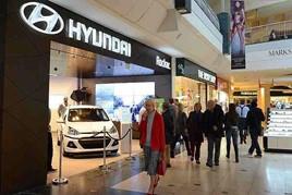 Hyundai Motor UK's Bluewater Shopping store, originally operated in partnership with Rockar
