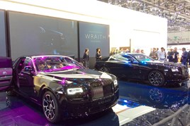 Rolls Royce Motor Cars' Black Badge editions