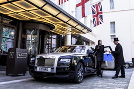Rolls-Royce outside The Beaumont
