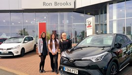 Ron Brooks Toyota apprenticeship 2017