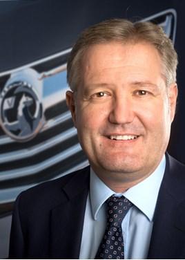 Vauxhall MD Rory Harvey