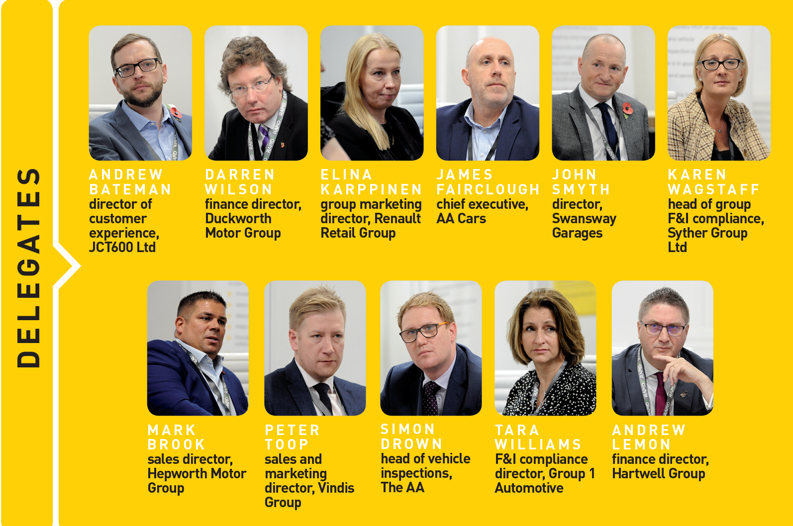 AM Live 2019 Round table delegates