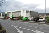 An artist's impression of the RRG Group Bolton Skoda facility