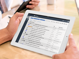 SalesMaster iPad stock image