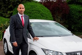 Sam Hothi, rental and Motability manager, Seat UK