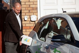 ScottishPower EV charge point
