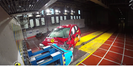 Honda Jazz safety test