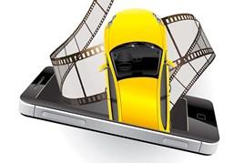 Car dealer video smartphone