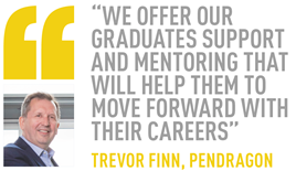 Trevor Finn Pendragon on university graduates