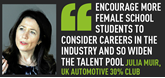 Julia Muir,  UK Automotive 30% Club