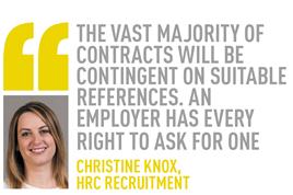 christine knox,  hrc recruitment