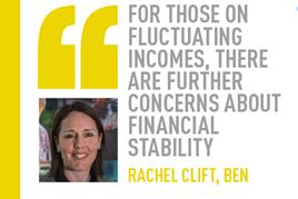 Rachel Clift, Ben