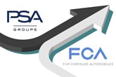 PSA FCA merger arrow