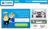 Trusted Car Buyers website