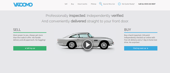 New Challenger Vroomo Launches Into Online Used Car Sales Market