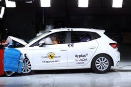 Seat's Ibiza in Euro NCAP safety testing