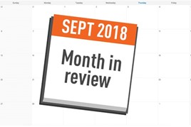 AM month in review September 2018