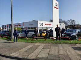 Award winners: the team at Sherwoods Motor Group's Citroen UK dealership in Gateshead