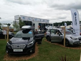 Subaru at The Game Fair