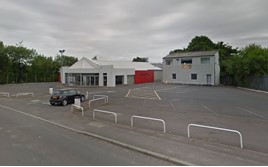 Shukers' former Telford showroom site