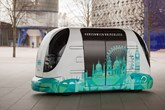 """Harry"", a prototype driverless pod being trialled in Greenwich"
