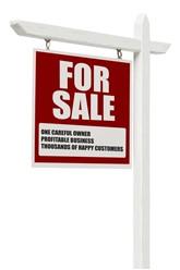 Dealership for sale sign