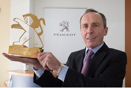 Simon Bailes, chief executive, Simon Bailes Peugeot Ltd