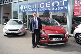 Simon Roberts, dealer principal at Trenton Group's new Peugeot facility in Hull