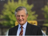 Marshall Group honorary life president, Sir Michael Marshall